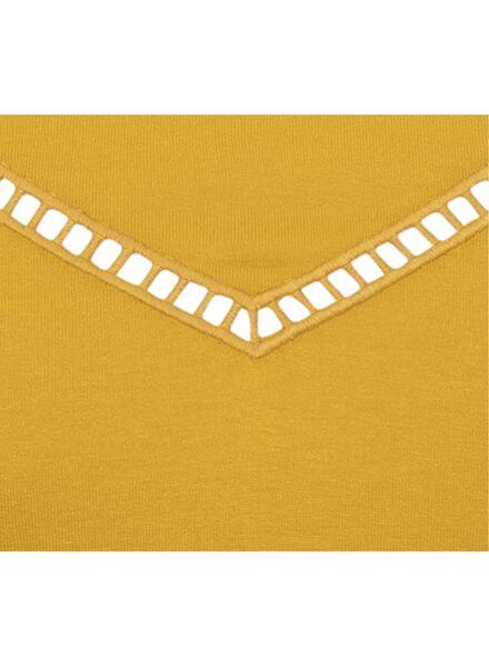 dames t-shirt geel - 1000008331 - HEMA