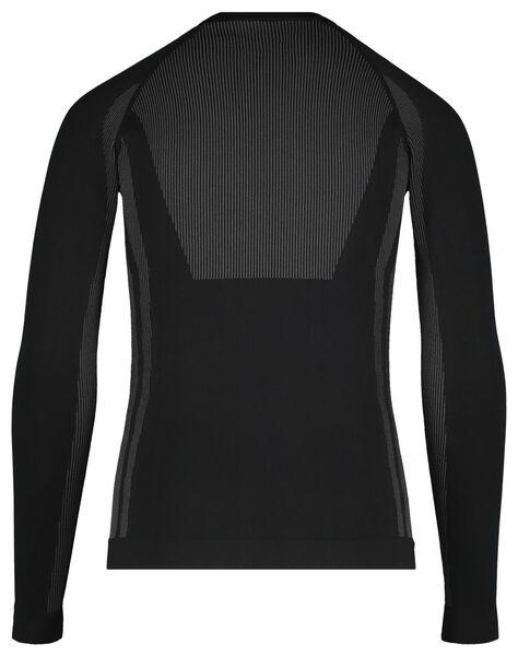 kinder thermoshirt zwart zwart - 1000017088 - HEMA