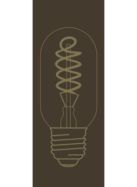 LED lamp 4W - 200 lm - buis - goud - 20020082 - HEMA
