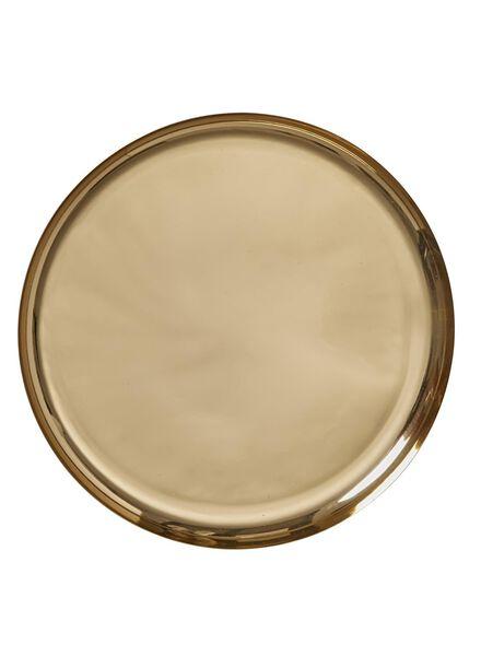 kaarsonderzetter - Ø 33 cm - goud - 13382060 - HEMA