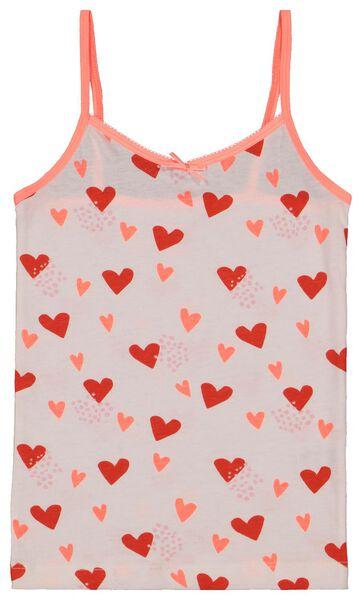 2-pak kinderhemden roze roze - 1000017798 - HEMA