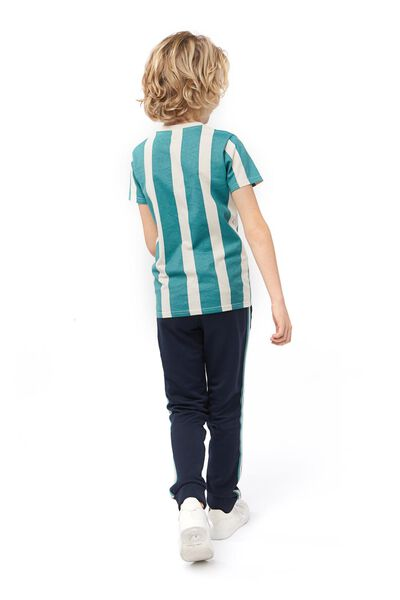 kinder sweatbroek donkerblauw 158/164 - 30762676 - HEMA