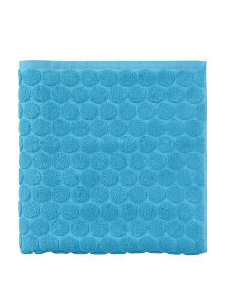 baddoek zware kwaliteit 70 x 140 - aqua - 5240177 - HEMA