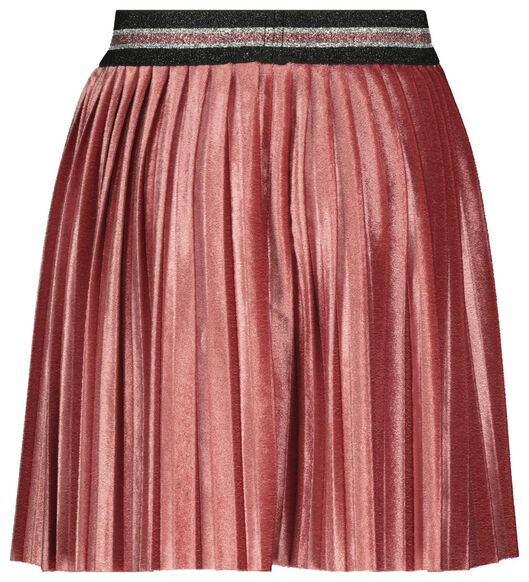 kinderrok velvet roze roze - 1000021996 - HEMA