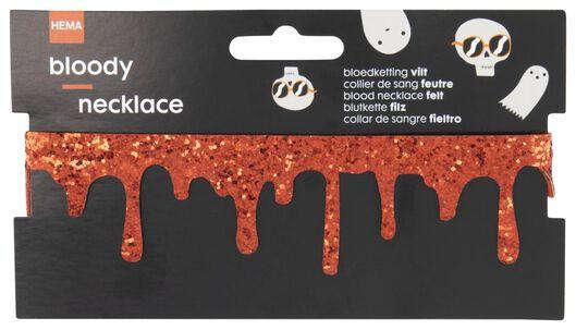 ketting bloed Halloween - 25200505 - HEMA