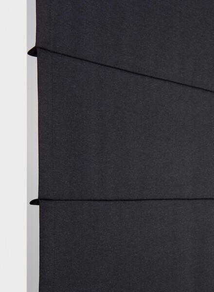 vouwgordijn andria donkerblauw andria - 7406739 - HEMA