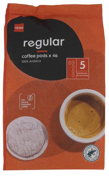 koffiepads regular - 46 stuks - 17150001 - HEMA