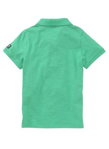 kinderpolo groen groen - 1000011703 - HEMA