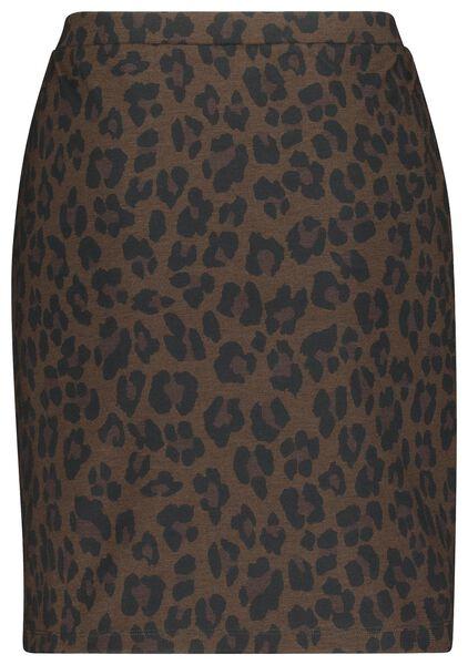 damesrok bruin bruin - 1000019803 - HEMA