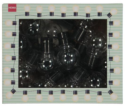 verlichtingssnoer met 20 ballen - 5 meter - 41810171 - HEMA