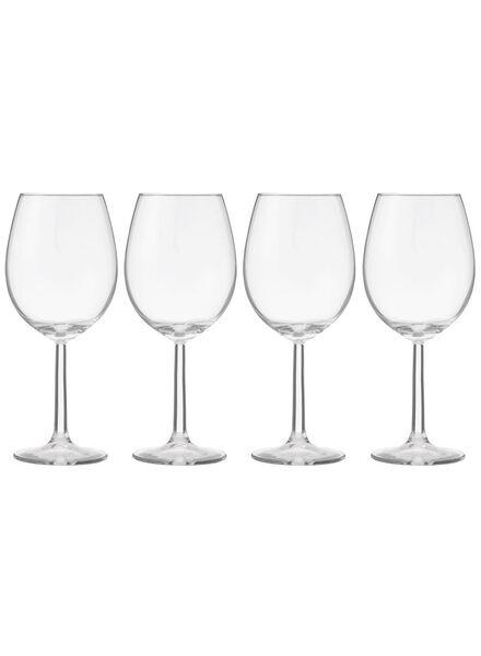 4-pak rode wijnglazen - 9402020 - HEMA