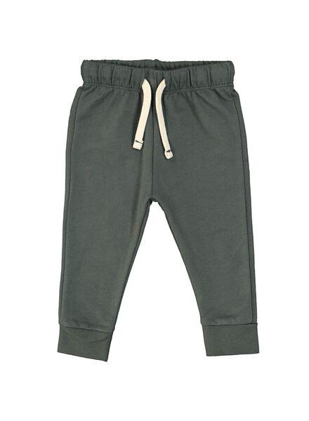 baby sweatbroek groen groen - 1000014707 - HEMA