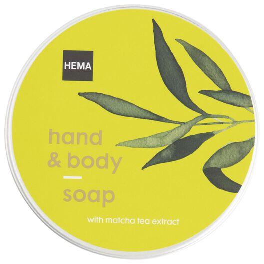 zeep in blik matcha - 11315307 - HEMA