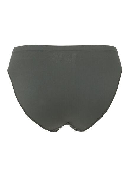 damesslip naadloos khaki khaki - 1000006545 - HEMA