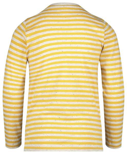 kinder t-shirt streep geel geel - 1000020573 - HEMA