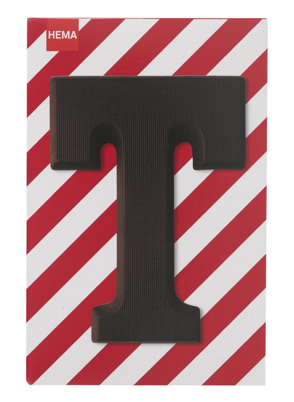 HEMA Pure Chocoladeletter T