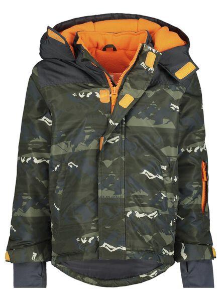 kinder ski-jas groen groen - 1000017220 - HEMA