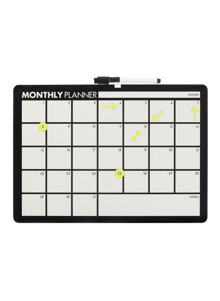 whiteboard maandplanner - 14100615 - HEMA