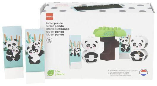 bio bouwset panda - 15120040 - HEMA