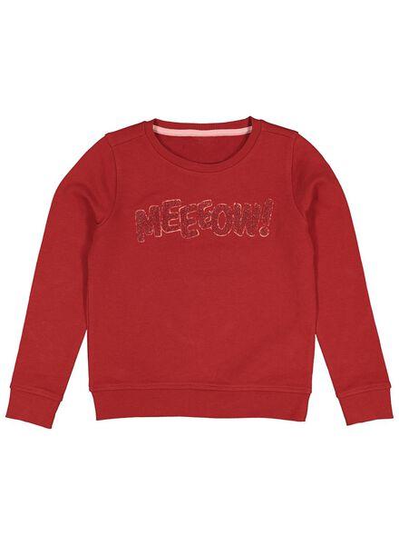 kindersweater rood rood - 1000013680 - HEMA