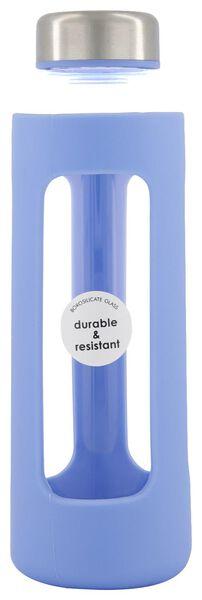 waterfles 450ml borosilicaat glas - 80640005 - HEMA