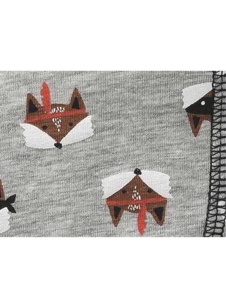 2-pak kinderboxers grijsmelange grijsmelange - 1000009252 - HEMA