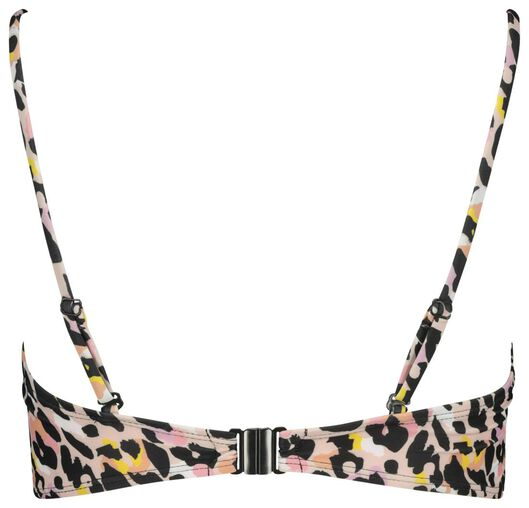 dames padded bandeau bikinitop roze roze - 1000017904 - HEMA