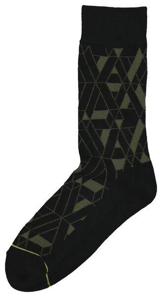 herensokken zwart zwart - 1000020367 - HEMA
