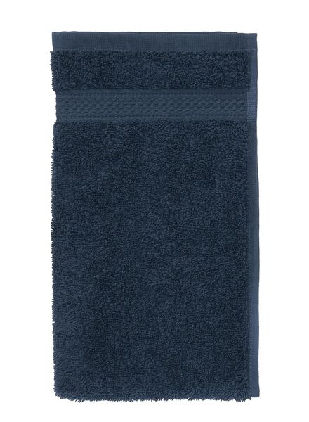 gastendoekje zware kwaliteit 30 x 55 - jeans blauw - 5240179 - HEMA