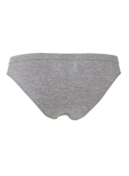 damesslip naadloos grijsmelange grijsmelange - 1000009282 - HEMA