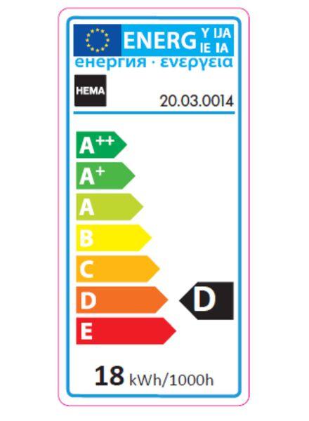 besparende gloeilamp kaars 23w - kleine fitting - 20030014 - HEMA