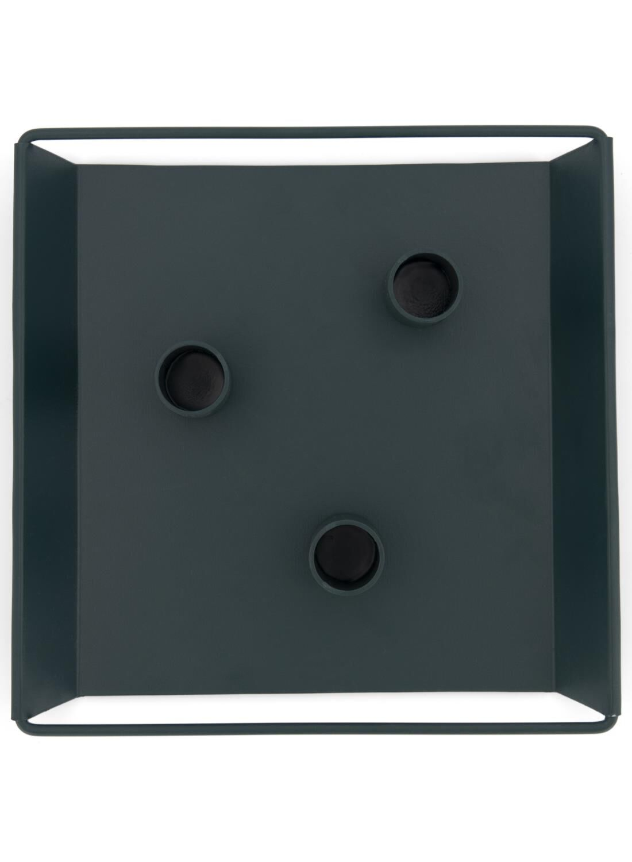 HEMA Kaarsplateau – 20.5 X 50.5 X 2.5 – Donkergroen (groen)