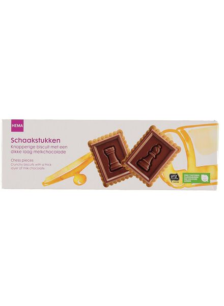 chocolade schaakstukken - 10840059 - HEMA