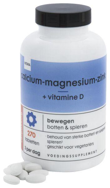 calcium-magnesium-zink + vitamine D - 270 stuks - 11404003 - HEMA