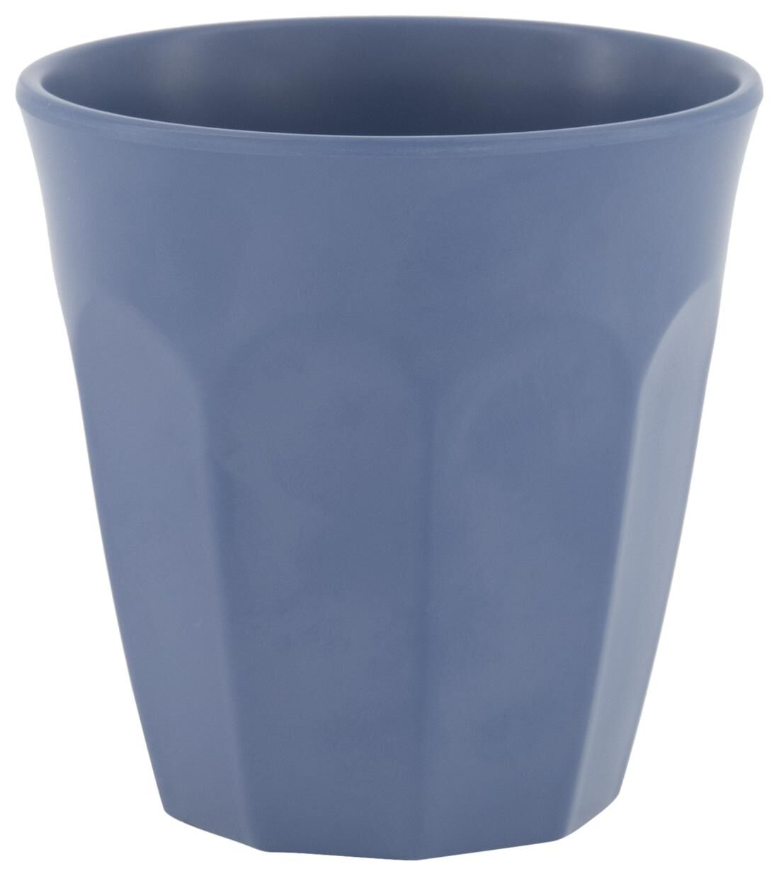 HEMA Beker 300 Ml Melamine Mat Blauw