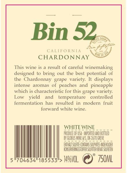 Bin 52 Chardonnay - wit - 17370018 - HEMA