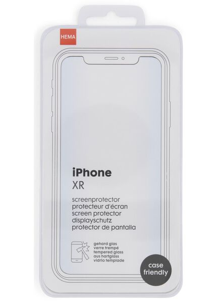 screenprotector iPhone XR - 39630138 - HEMA