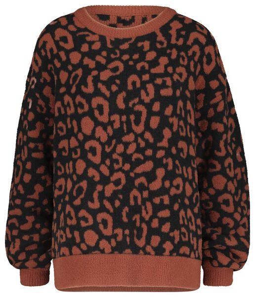 damestrui luipaard bruin - 1000020613 - HEMA