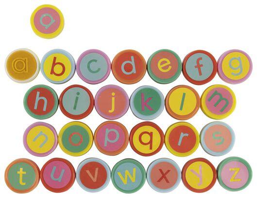 Stempelset letters - 26 stuks