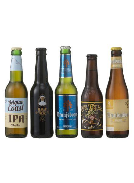 houten geschenkset speciaalbier - 17400110 - HEMA
