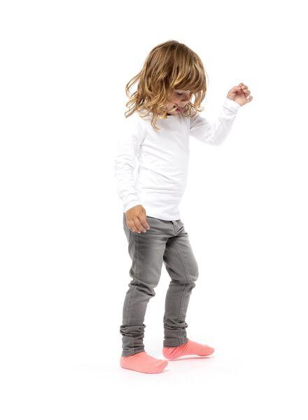 kinder skinny jeans grijs grijs - 1000014231 - HEMA