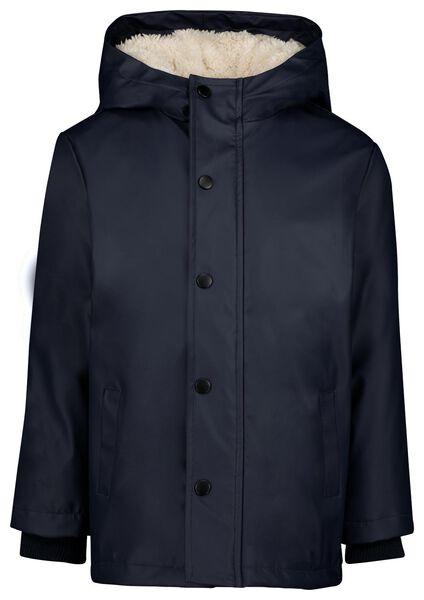 kinderjas donkerblauw 122/128 - 30745071 - HEMA