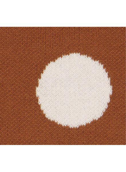 babytrui gebreid bruin bruin - 1000015538 - HEMA