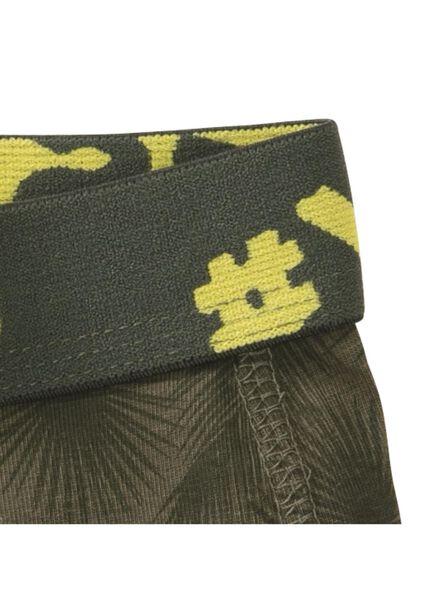 2-pak kinderboxers legergroen legergroen - 1000011776 - HEMA