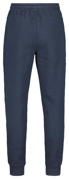 heren sweatbroek donkerblauw donkerblauw - 1000014299 - HEMA