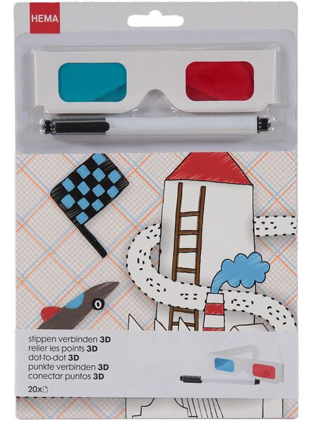 3D kleurplaten - 15990143 - HEMA