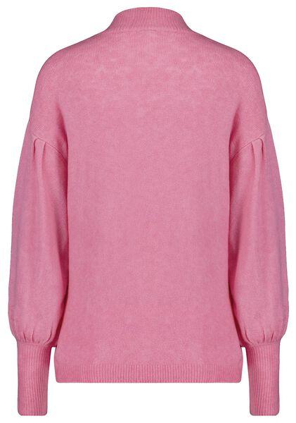 damestrui met pofmouw roze S - 36234221 - HEMA