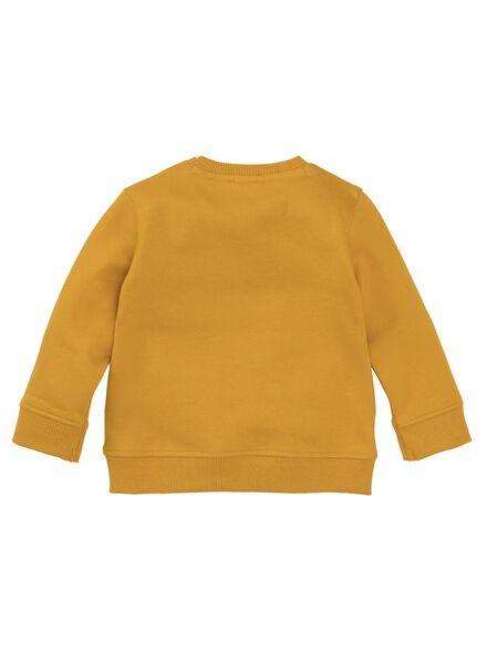 baby sweater okergeel okergeel - 1000008284 - HEMA