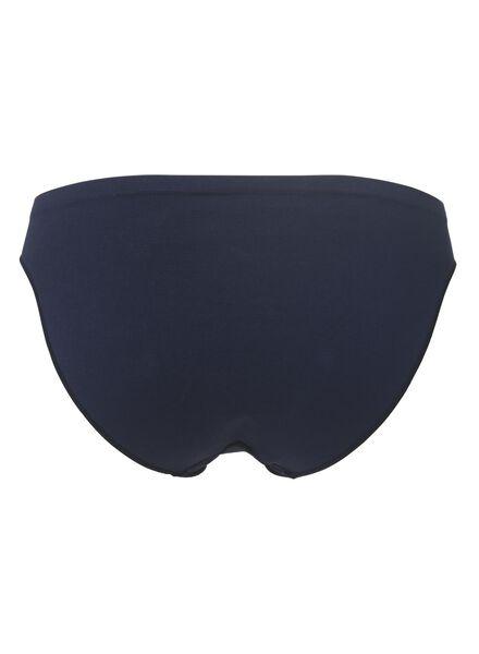 damesslip naadloos donkerblauw donkerblauw - 1000002011 - HEMA