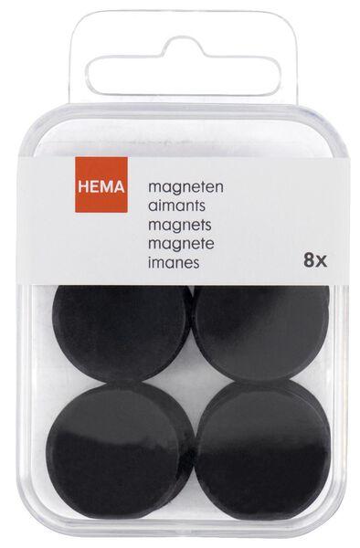 Magneten extra sterk Ø2.5 cm - 8 stuks